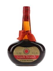 Cusenier Peach Brandy Bottled 1960s-1970s 69.6cl / 29.7%