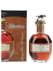 Blanton's Straight From The Barrel No. 27 Bottled 2019 70cl / 64.4%