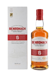 Benromach 15 Year Old Bottled 2020 70cl / 43%