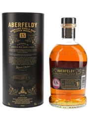 Aberfeldy 15 Year Old Red Wine Cask Finish Batch 2919 70cl / 43%
