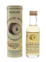 Mannochmore 1984 16 Year Old Bottled 2001 - Signatory Vintage 5cl / 43%