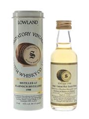 Bladnoch 1988 11 Year Old Bottled 2000 - Signatory Vintage 5cl / 43%