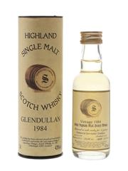 Glendullan 1984 11 Year Old Bottled 1996 - Signatory Vintage 5cl / 43%