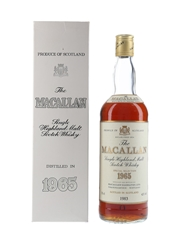 Macallan 1965 Special Selection