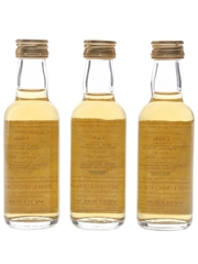 Drumguish The Connoisseur's Course 10th, 11th & 12th Bottled 2001 - The Whisky Connoisseur 3 x 5cl / 40%