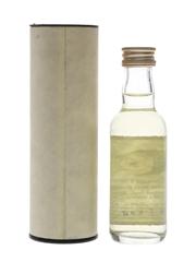 Littlemill 1984 12 Year Old Bottled 1996 - Signatory Vintage 5cl / 43%