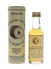 Linkwood 1991 13 Year Old Bottled 2004 - Signatory Vintage 5cl / 43%