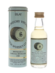 Caol Ila 1989 11 Year Old Cask 705 Bottled 2000 - Signatory Vintage 5cl / 43%