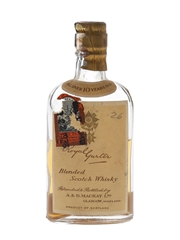 Royal Garter 10 Year Old Bottled 1930s - Rathjen Bros. Inc. 4.7cl / 43%