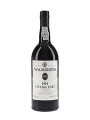 Warre's 1991 Vintage Port