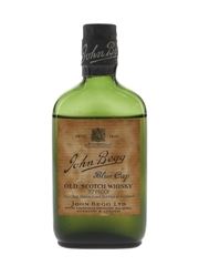 John Begg Blue Cap Bottled 1950s 5cl / 40%
