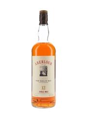 Aberlour Glenlivet 12 Year Old Bottled 1990s 100cl / 43%