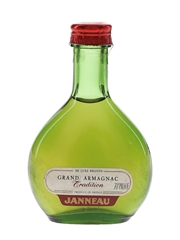 Janneau Tradition Grand Armagnac Bottled 1960s 3cl / 40%