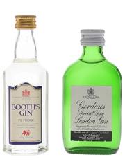 Booth's & Gordon's Gin
