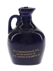 Rutherford The Queen's Silver Jubilee 1977 Ceramic Decanter 5cl