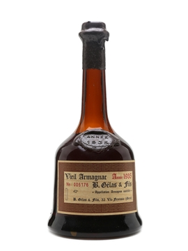 B Gelas & Fils 1935 Vieil Armagnac