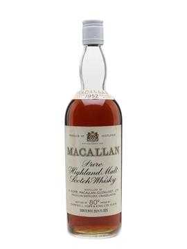 Macallan 1952