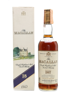 Macallan 1967 - 18 Year Old