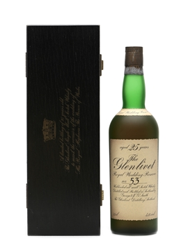 Glenlivet 25 Years Old
