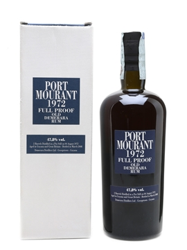 Port Mourant 1972 Old Demerara Rum