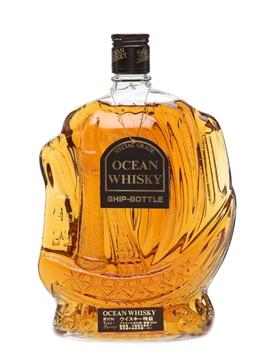 Ocean Whisky Ship Decanter