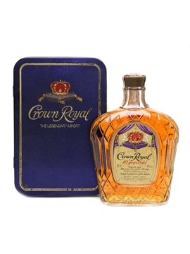 Crown Royal 10 Year Old 1981