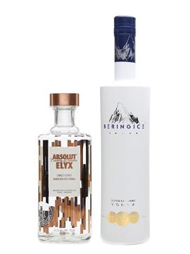 Absolut Elyx & Bering Ice Vodka