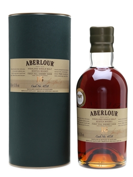 Aberlour 16 Year Old Cask No. 4738