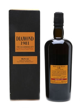 Diamond 1981 Very Old Demerara Rum 31 Year Old -  Velier 70cl / 60.1%
