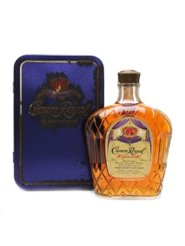 Crown Royal 10 Year Old 1980