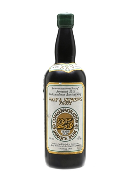 Wray & Nephew's Commemorative - 25 Years Old