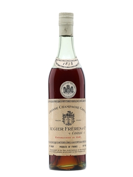 Augier Freres Cognac 1878