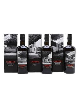 Caroni 1996 Trinidad Rum Trilogy