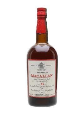 Macallan 25 Year Old Silver Jubilee 1977