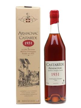 Castarede 1931 Armagnac