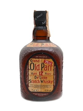 Grand Old Parr De Luxe 12 Year Old