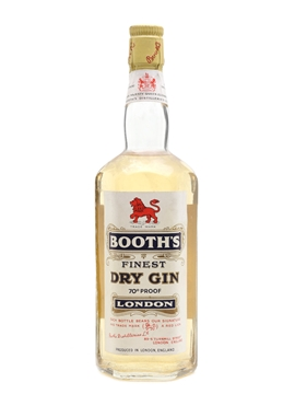 Booth's London Dry Gin Bottled 1956 75cl / 40%