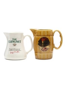 Aberlour-Glenlivet & Glenlivet Water Jug