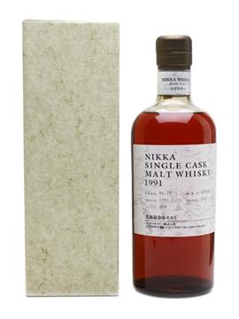 Nikka Yoichi 1991 Single Cask