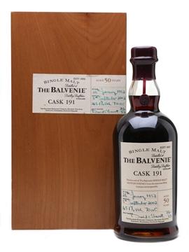 Balvenie 1952 Cask 191 50 Year Old 70cl / 45.1%