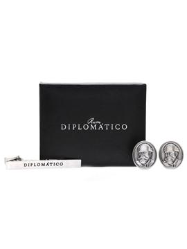 Diplomatico Cufflinks & Tie Pin