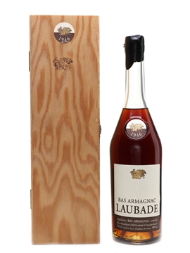 Laubade 1946 Bas Armagnac Bottled 2004 70cl / 40%