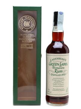 Cadenhead's Green Label 1975 Demerara Rum