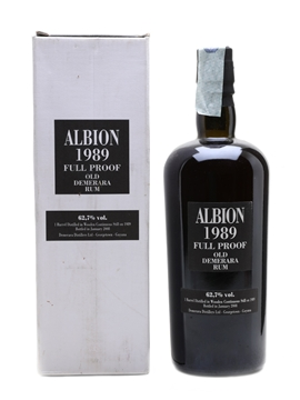 Albion 1989 Full Proof Demerara Rum