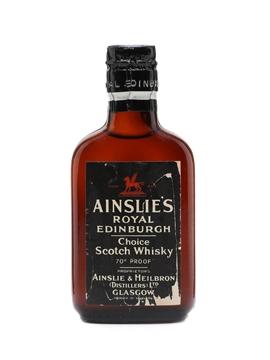 Ainslie's Royal Edinburgh Spring Cap