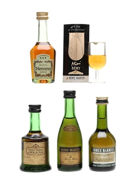 Cognac & Brandy Miniatures