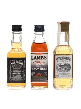 Whiskey, Rum & Liqueur Miniatures