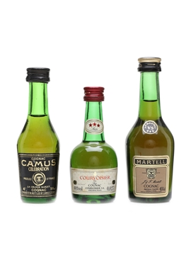 Assorted Cognac Miniatures