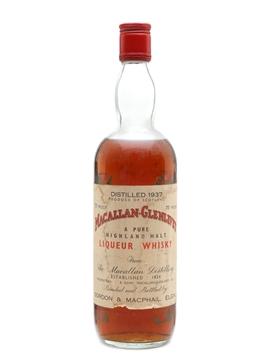 Macallan Glenlivet 1937 Gordon & MacPhail