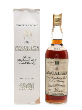Macallan 1961 Campbell, Hope & King